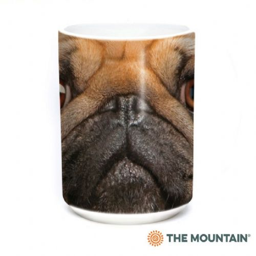 Pug Face Ceramic Mug - The Mountain®